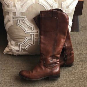 Frye Pull On Riding Boots